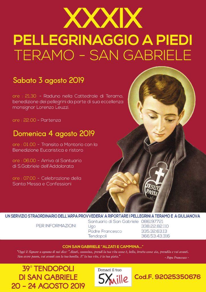 San Gabriele Presentata La Tendopoli E Il Pellegrinaggio Abruzzo Life