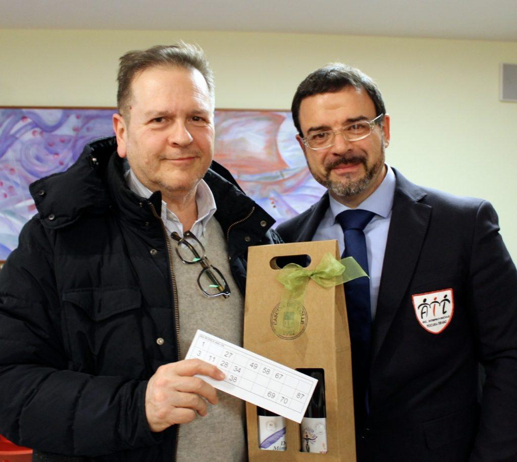 Antonio Oro con Antonio Paolino uno dei vincitori